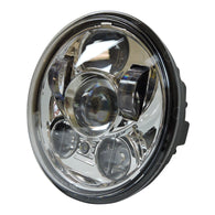 5.75 5 3/4 LED Headlight Daymaker Chrome Projector DRL Harley  Dyna Sportster