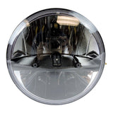 "7"" LED Projector Daymaker Dub Headlight Black 55W"