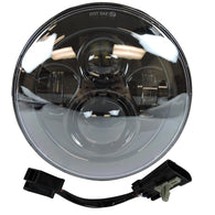 7 LED Projector Daymaker Headlight Black