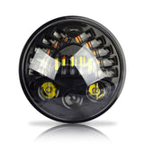 "7"" LED Integrated Projector Daymaker Headlight Black"