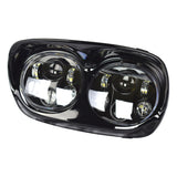 "Black 5-3/4"" LED Headlight Projector Daymaker Lamp For Harley Road Glide 98-13"