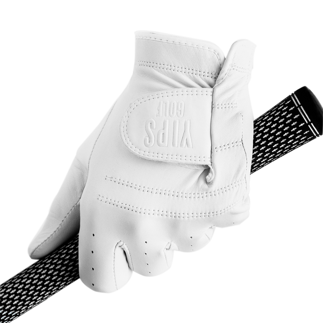 5/PACK Men's Classic Pearl White Glove