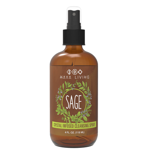 Sage Essential Oil Cleansing Spray