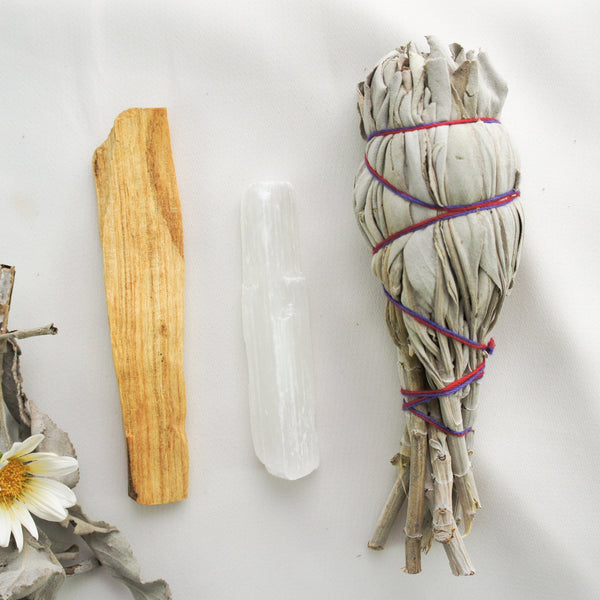 """Be Calm"" Cleansing Smudge Kit"