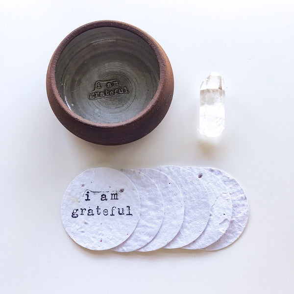 Growing Gratitude Ceramic Bowl Bundle