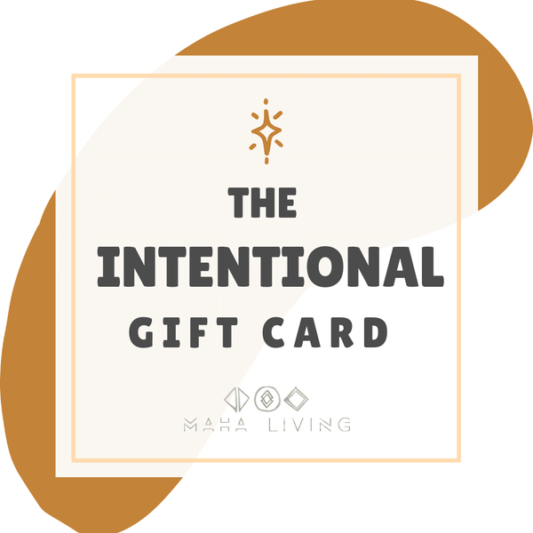 Give the Gift of Intention
