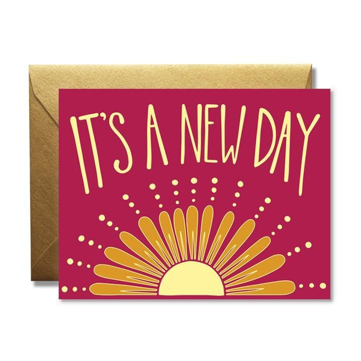 New Day Sun Card