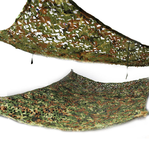 2x3m Woodland Camouflage Netting for Camping, Beach or Hunting