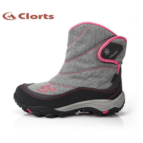 2016 Clorts Women Hiking Boots Waterproof Snow Boots Warm Outdoor Hiking