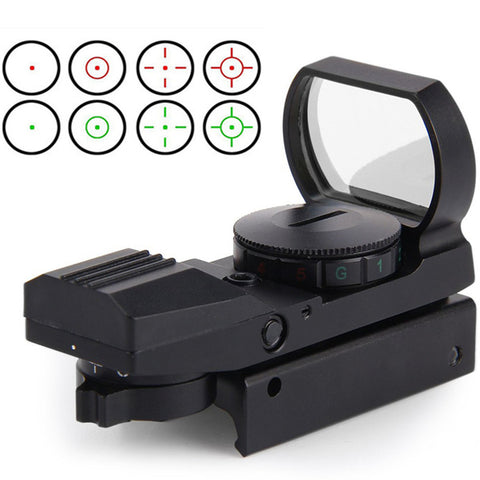 11mm / 20mm Rail Riflescope Hunting Airsoft Optics Scope Holographic Red Dot Sight