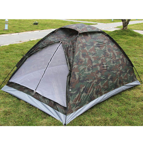 Camping Tent for 2 Person Single Layer Camoflag