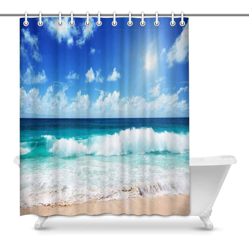 More Shower Curtains Graphic Pattern Arts Print On