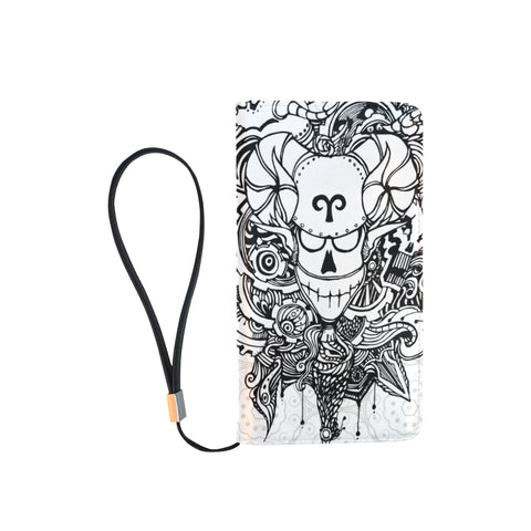 Aries Sign Men Clutch Purse White Color Style 1