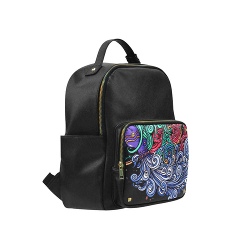 Aquarius Leisure Backpack Black (Small)