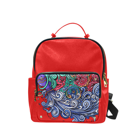 Aquarius Leisure Backpack Red (Small)