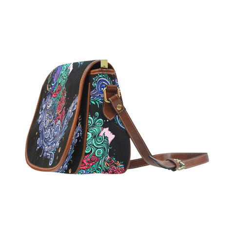 Aquarius Saddle Bag Black(Big)