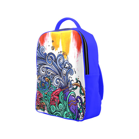 Aquarius Backpack Bright blue