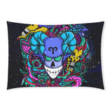 Aries Sign Rectangle Pillow Case Blue Style(One Side)