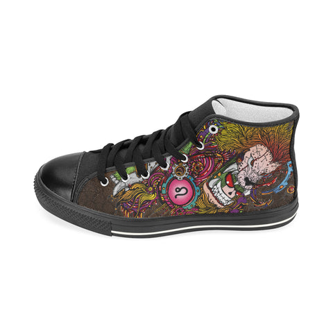 Leo Sign Aquila High Top Men Canvas Shoes Multicolor Style