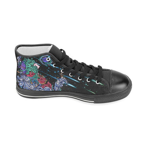 Aquarius Aquila High Top Men Canvas Shoes