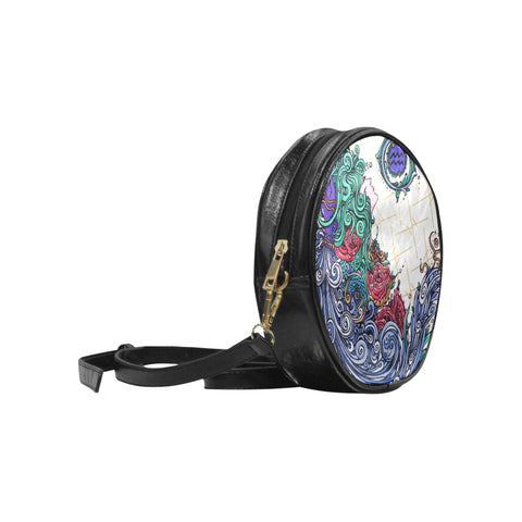 Aquarius Round Messenger Bag M1
