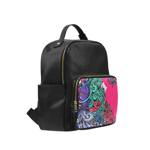 Aquarius Leisure Backpack Black  (Big)
