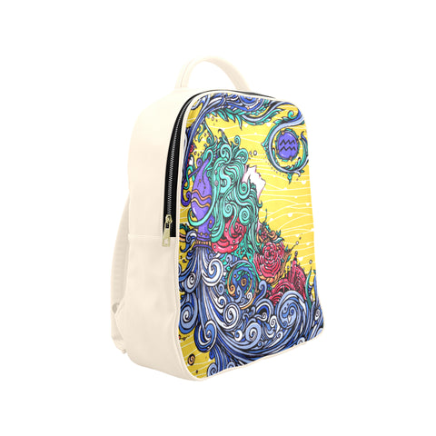 Aquarius Backpack Yellow