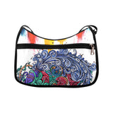 Aquarius Shoulder Bag Black White