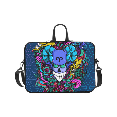 Aries Sign Classic Sleeve for Laptop Blue Style