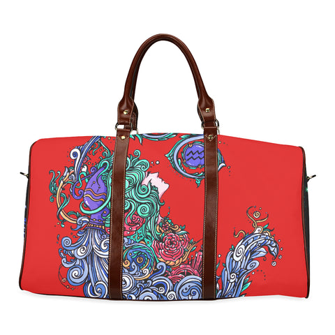Aquarius Travel Bag Red
