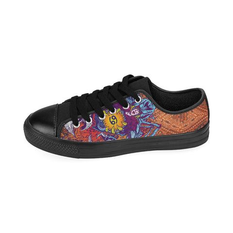 Cancer Sign Canvas Women Shoes Brown Color(Large Size)