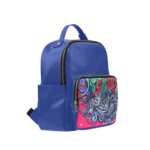 Aquarius Leisure Backpack Dark blue (Small)