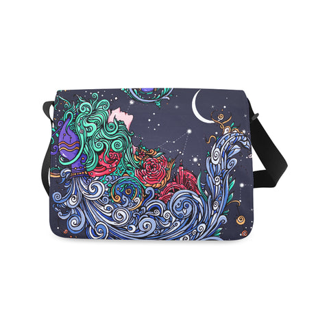 Aquarius Classic Messenger Bag