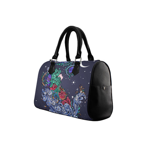 Aquarius Barrel Type Handbag