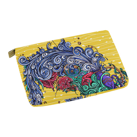 Aquarius Carry-All Pouch Yellow
