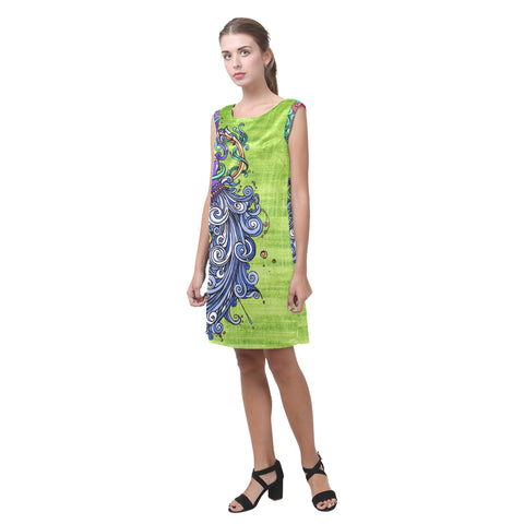 Aquarius green Shift Dress
