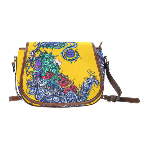 Aquarius Saddle Bag Yellow (Small)