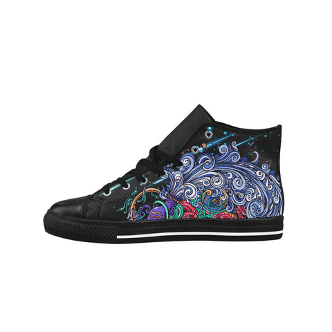 Aquarius Aquila High Top Action Leather Women Shoes