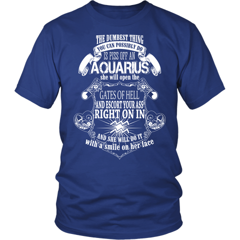 Aquarius will open the gate of hell T-Shirt