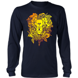 Aries Sign Hot Colors Style Hoodies, Sweatshirt, Long Sleeve