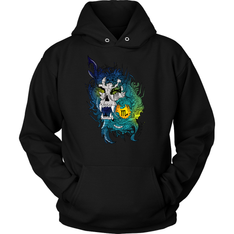 Scorpio Sign Multicolor Style 4 Hoodies, Sweatshirt, Long Sleeve