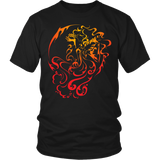 Aquarius Sign Hot Colors Style 1 T-Shirts