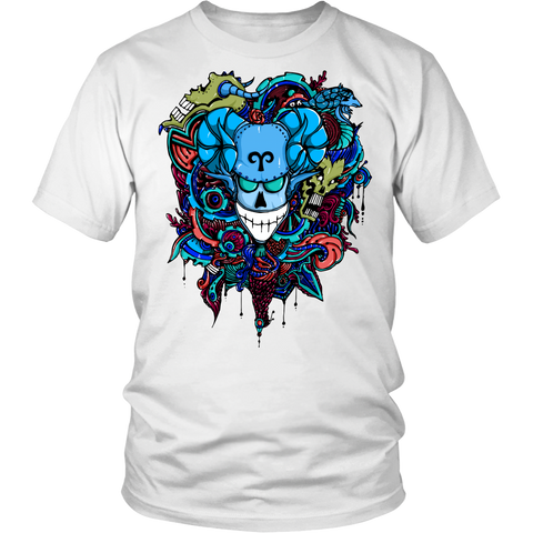 Aries Sign Multicolor Style 7 T-Shirts
