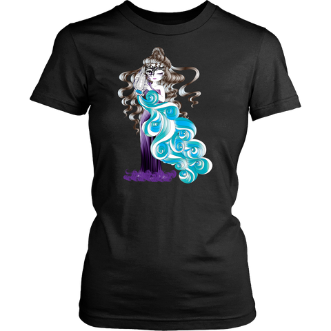 Aquarius Sign Angel Style 1 T-Shirts