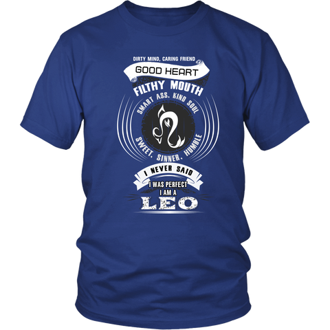 Leo Good Heart Filthy Mouth T-Shirts