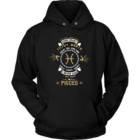 I Never Said. I Was Perfect. I Am A Pisces Hoodies, Sweatshirt, Long Sleeve
