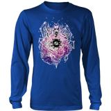 Cancer Sign Multicolor Style 6 Hoodies, Sweatshirt, Long Sleeve