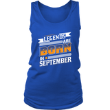 Virgo/Libra Sign Legends Are Born In September T-Shirts