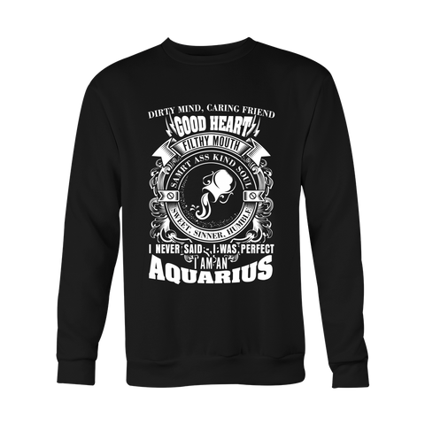 Aquarius Perfect Hoodies, Sweatshirt, Long Sleeve