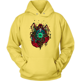 Cancer Sign Multicolor Style 1 Hoodies, Sweatshirt, Long Sleeve